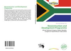 Bookcover of Reconstruction and Development Programme