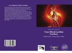 Bookcover of Trna-Dihydrouridine Synthase