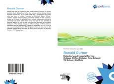 Buchcover von Ronald Gurner