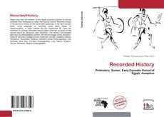 Capa do livro de Recorded History