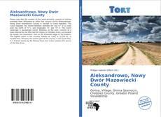 Aleksandrowo, Nowy Dwór Mazowiecki County kitap kapağı