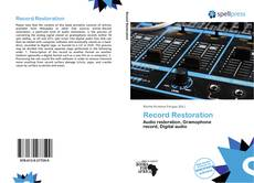 Bookcover of Record Restoration
