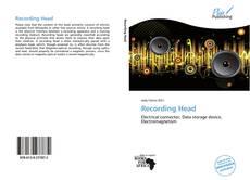 Bookcover of Recording Head