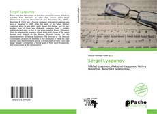 Bookcover of Sergei Lyapunov