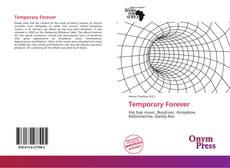Bookcover of Temporary Forever