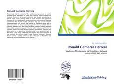 Portada del libro de Ronald Gamarra Herrera