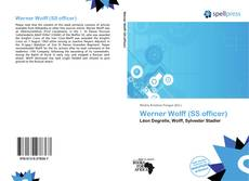 Bookcover of Werner Wolff (SS officer)