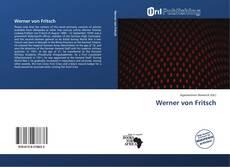 Bookcover of Werner von Fritsch