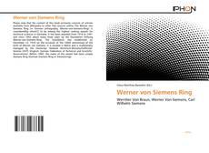 Werner von Siemens Ring的封面