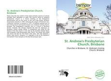 Capa do livro de St. Andrew's Presbyterian Church, Brisbane