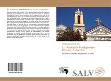 Bookcover of St. Andrew's Presbyterian Church, Colombo