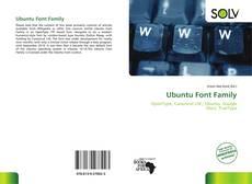 Couverture de Ubuntu Font Family