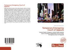 Borítókép a  Temporary Emergency Court of Appeals - hoz