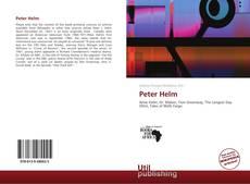 Peter Helm kitap kapağı