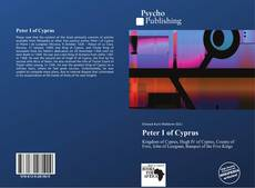 Bookcover of Peter I of Cyprus