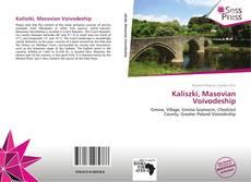 Portada del libro de Kaliszki, Masovian Voivodeship