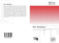 Capa do livro de Wes Berggren