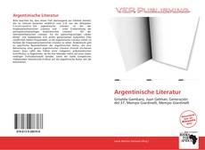 Borítókép a  Argentinische Literatur - hoz