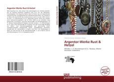 Capa do livro de Argentor-Werke Rust & Hetzel
