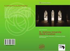 Bookcover of St. Andrews University (North Carolina)
