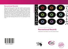 Capa do livro de Recreational Records