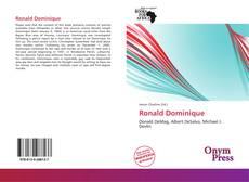 Capa do livro de Ronald Dominique