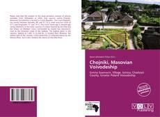 Portada del libro de Chojniki, Masovian Voivodeship