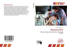 Recovery Disc kitap kapağı
