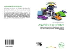 Bookcover of Argumentum ad infinitum