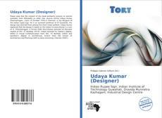 Buchcover von Udaya Kumar (Designer)