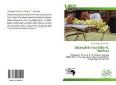 Udayakrishna-Siby K. Thomas kitap kapağı