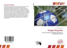 Sergei Pesyakov kitap kapağı