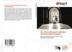 St. Ann's Roman Catholic Church (Manhattan) kitap kapağı