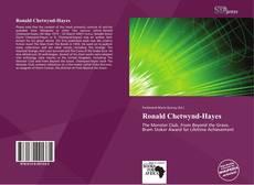 Borítókép a  Ronald Chetwynd-Hayes - hoz