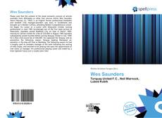 Bookcover of Wes Saunders