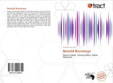 Ronald Brunmayr kitap kapağı