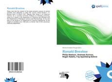 Обложка Ronald Breslow