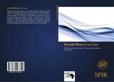 Portada del libro de Ronald Blanco La Cruz