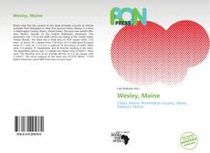 Bookcover of Wesley, Maine