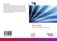 Bookcover of Peter Kavka