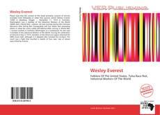 Wesley Everest kitap kapağı