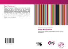 Bookcover of Peter Kaukonen