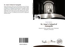 Bookcover of St. Anne's School of Annapolis