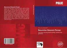 Bookcover of Recursive Descent Parser