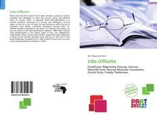 Обложка Udo Ulfkotte