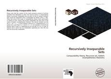 Bookcover of Recursively Inseparable Sets