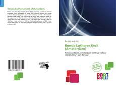 Capa do livro de Ronde Lutherse Kerk (Amsterdam)