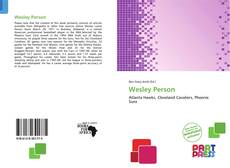 Bookcover of Wesley Person