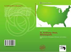 Bookcover of St. Anthony West, Minneapolis