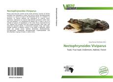 Bookcover of Nectophrynoides Viviparus
